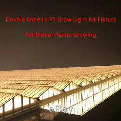 1000W Double Ended Grow Light System Kit Fixture with HPS Bulb and Ballast UL