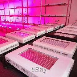 1x 900WLED Grow Light 10 Spectrums IR Indoor Hydroponic System Plant Ufo New