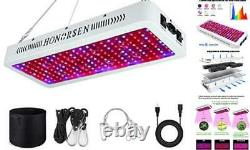 2000W LED Grow Light Full Spectrum Double Switch Plant Light for Hydroponic Ind