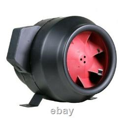 6'' F5 In-Line Fan For Garden and Hydroponics Grow and Light Systems