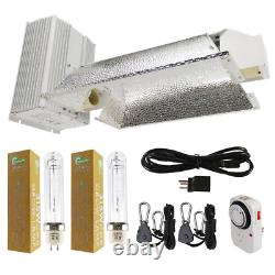 630-Watt Cmh Enclosed Style Dual Lamp Grow Light System With Lamps