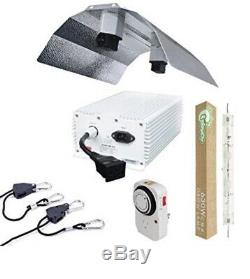 630W DE CMH Ceramic Metal Halide Grow Light System with Dbl Ended Wing Reflector