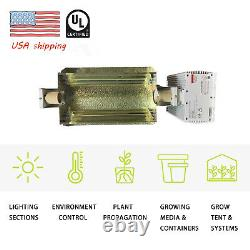 630W Double Ended Complete Grow Light System Kits with HPS Bulb UL 120/240V Plug