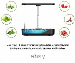 Adore Pro Hydroponic Growing System Indoor Herb Garden LED Grow Lights 12-Pods