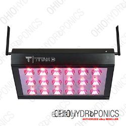 CIRRUS LED Titan 3 full spectrum LED grow light system uses android or iOS