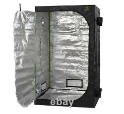 Complete Small Grow Tent Kit Dual Spectrum Grow Light Kit Extraction System Pots