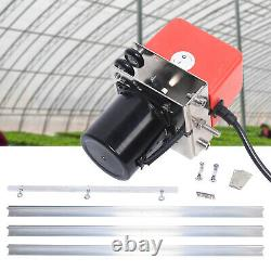 Grow Light Mover Light Track System Mover Kit 10.8ft Motor 0-120 Second 10RPM
