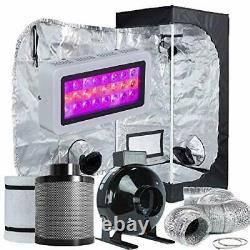 Grow Tent Room Complete Kit Hydroponic Growing System Grow Light Carbon Filter