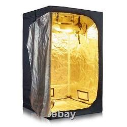 Grow Tent Room Complete Kit Hydroponic Growing System LED Grow Light 1000W
