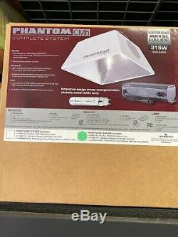 Hydro Crunch CMH02-315-ROPE CMH Enclosed Style Grow Light System 315W White