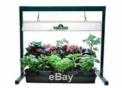 Hydrofarm 24.5 Inch Jump Start 2 Foot T5 Grow Light System with 24W Tube (6 Pack)