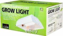 Hydrofarm Flco200D Complete Fluorescent Grow Light System with 200W