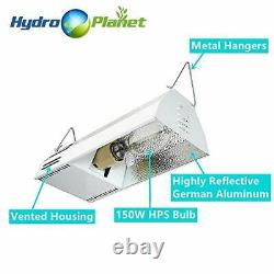 Hydroplanet Grow Light Fixture HPS 150W Complete System with Hydroplanet Lamp