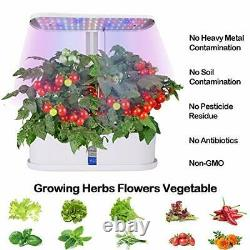 Hydroponic Growing System, 10-Pod Plant Growing Lights Indoor Gardening Herbs