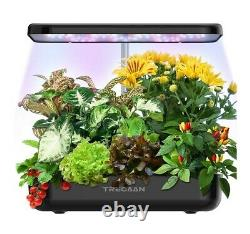 Hydroponic Growing System Indoor Herb Home Garden Kit LED Grow Light 12 Pods