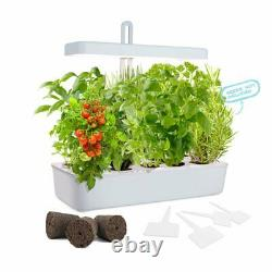 Hydroponic Indoor Garden LED Lighted Plant Vegetable Herb Grow Promoter System