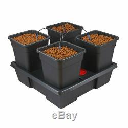 Hydroponic WIlma System Complete Grow Tent Kit With LED Grow Light 1.2x1.2x2m