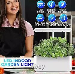 Hydroponic grow system plant flower automatic indoor garden light auto power