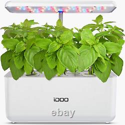 Hydroponics Growing System, Indoor Garden Starter Kit with LED Grow Light, Autom