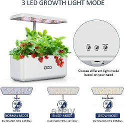 Hydroponics Growing System Indoor Smart Garden Starter Kit with LED Grow Light