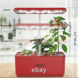 Hydroponics Growing System Indoor Smart Herb Garden Start Kit with LED Grow Light