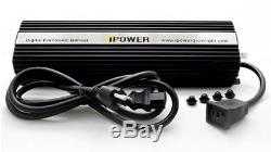 IPower 1000 Watt HPS MH Digital Dimmable Grow Light System Kits Air Cooled