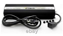 IPower 1000 Watt HPS MH Digital Dimmable Grow Light Systems Kit Air Cooled