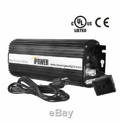 IPower UL Certified 1000w MH HPS Grow Light System Set Kit for Plant Growing
