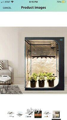 In-Door Plant Grow OPULENT SYSTEMS LED Grow Lights 600W Used