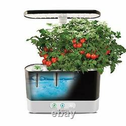 Indoor Garden Herb Veg Planter Grow House Kit with Seeds, 20W LED Light System