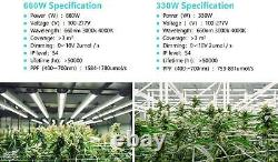 LED Plant Grow Light System Full Spectrum Hydroponic Indoor Powerful Sunlike