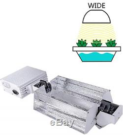 MELONFARM 1000W Double Ended CMH Grow Light System Kits with 3-Mode-Adjust 98% 1