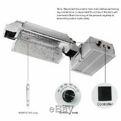 MIXJOY 1000 Watt Double Ended Grow Light System Kits, 2100K Super Lumens DE HPS