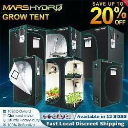 Mars Hydro Grow Tents Kit Hydroponic Indoor System for LED HPS/MH Grow Light