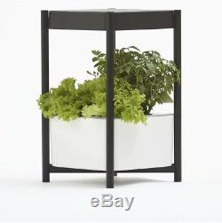 Miracle-Gro Twelve Indoor Growing System, Side Table with LED Grow Light