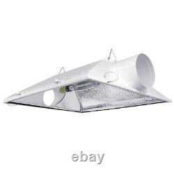 New 6 Inch Large Air Cooled Hood Reflector for HPS/MH Grow Light Systems 1000W