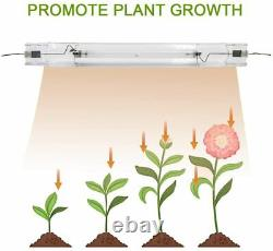 New! MIXJOY 1000 Watt Double Ended Grow Light System For Indoor Growing