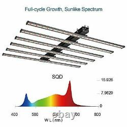 OPULENT SYSTEMS LED Grow Lights 600W Sunlike Full Spectrum Commercial Plant G