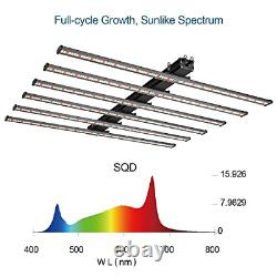 OPULENT SYSTEMS LED Grow Lights 600W Sunlike Full Spectrum Commercial Plant Grow
