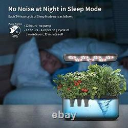 Smart Garden with 24W LED Grow Light, Hydroponics Growing System, Auto