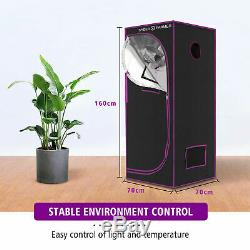 Spider Farmer 2000W LED Grow Light+70x140cm Grow Tent Kits Carbon Filter System