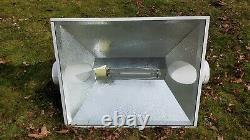 Sun System Magnum Xxxl 6in hydroponic Air Cool growing Reflector with bulb