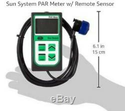 Sun System Par Meter Grow light Reading and more, Necessary for indoor grow 100%