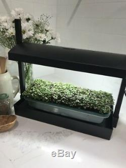 Table Top Grow Light and Self Watering system for Indoor Growing Gardening NEW