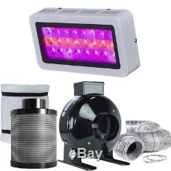 TopoLite LED Grow Light + Filter Combo Kit Hydroponic Indoor Growing System