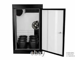 (Used) Supercloset LED Smart Grow Cabinet Full Soil Pots Grow System