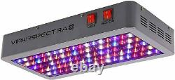 VIPARSPECTRA UL Certified 450W LED Grow Light, with Daisy Chain, Veg V450