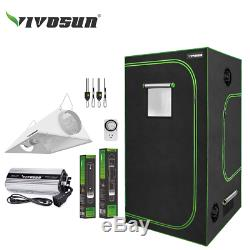 VIVOSUN Grow Tent Light Kit 5' x 5' with 400With600With1000W Ballast HPS MH Reflector
